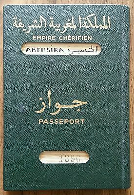 Travel Document Morroco Judaica