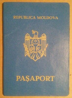 Travel Document Moldova Rare