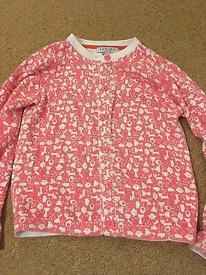 marks and spencer Coral Cat Cardigan Age 4-5