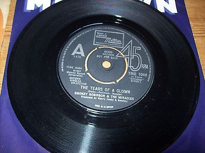 smokey robinson &the miracles -tears of a clown -tracks of my tears..motown demo