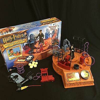 Harry Potter Levitating Challenge Electronic  Skill And Action Game 2001 Tested