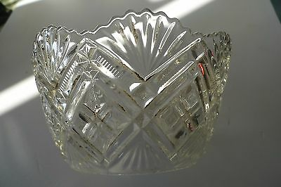 Oil lamp shade, Pressed Glass, Victorian , Edwardian