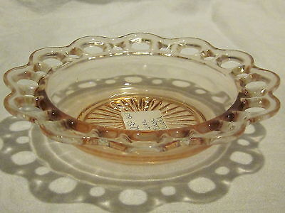 Hocking Glass Old Colony Pink Cereal Bowls (5)