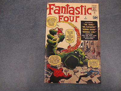 Facsimile reprint covers only to FANTASTIC FOUR #1  FOR    DAVISNET1