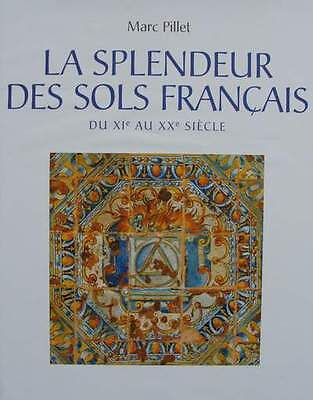 FRENCH BOOK : Antique floor (Stone,Marble,Mosaic,Flooring,Marquetry,tiles ...)