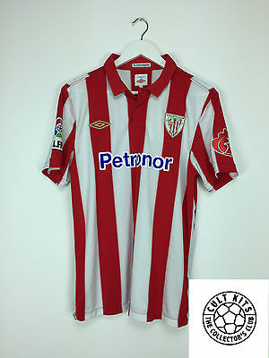 ATHLETIC BILBAO 10/11 Home Football Shirt (M) Soccer Jersey Umbro