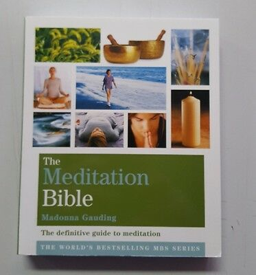 The Meditation Bible by Madonna Gauding 9781841813660
