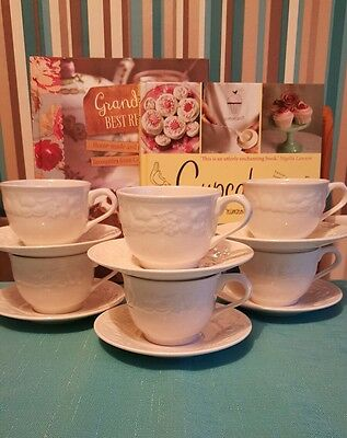 vintage china teacup duos x6