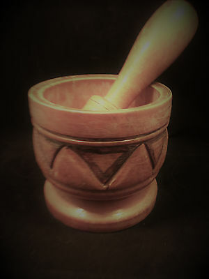 Metaphysical Empowered Mortar & Pestle