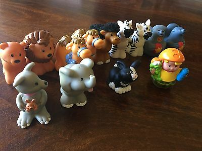 Little People Fisher Price Genuine Characters Including Noah's Ark Animals