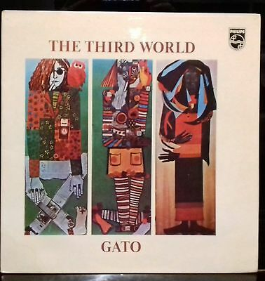 Lp -Gato The Third World - Philips 6369 403 A -1973 -Charlie Haden -Roswell Rudd