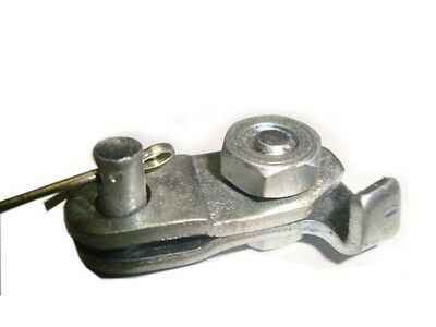 Brand New Vespa Pk 125 S Model Front Brake Early Cable Clamp Assembly