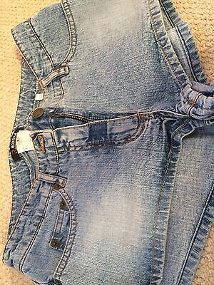 Woman's Morgan Denim Shorts Size 2 (10) In Excellent Condition