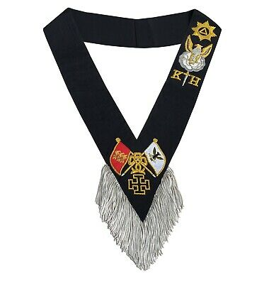 Masonic Regalia Rose Croix 30th Degree Sash and collarette Set