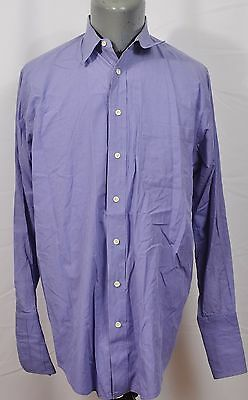 VTG Burberrys of London Union Made in USA Shirt 15 1/2 33 Button Up French Cuff
