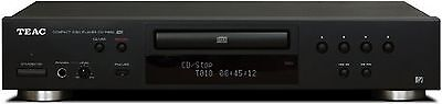 TEAC CD-P650-B Compact Disc Player with USB and iPod Digital Interface (Black)