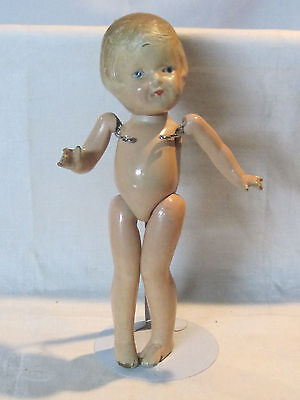 "Vintage Arranbee 12"" composition doll for repair & restoration"