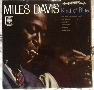 Lp- Miles Davis Kind Of Blue - Uk Cbs Sbpg 62966 -