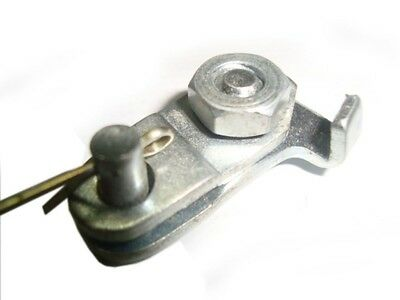 Old Vespa Lml Star / Rally 200 / Ss 180 For Front Brake Cable Clamp Assembly