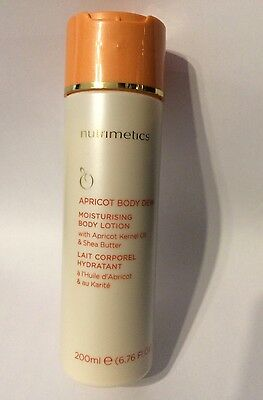 Nutrimetics Apricot Body Dew 200ml Brand New!