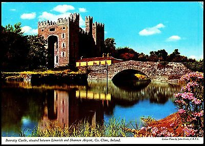 Postcard - Bunratty Castle Co Clare Ireland Postally Used 1982  By J Hinde 2/31