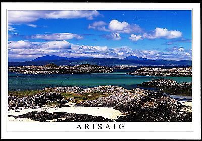 Postcard - Towards The Isle Of Skye From Traigh Highlands Scotland - Arisaig