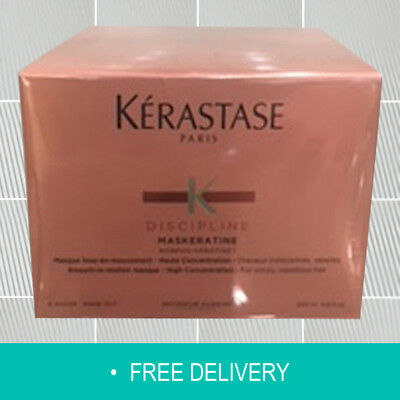 Kerastase Discipline Maskeratine Masque Smoothing Mask for Unruly Hair 200ml New