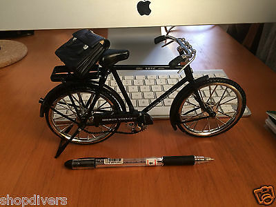 Bicycle Miniature Gentlemen Gift Luxury Black, truely bike and feature bicycle