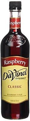 Dolce Raspberry Coffee Flavoring / Fruit Syrup  750 ml Great Deals