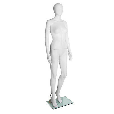 Full Body Female Mannequin Clothing Clothes Display Fashion Egg Head White 175cm