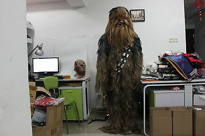 Star Wars Supreme Edition Cosplay Chewbacca Fancy Costume Adult Suit Xmas New