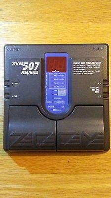 Zoom 507 Digital reverb guitar pedal (with chorus, delay and tuner)