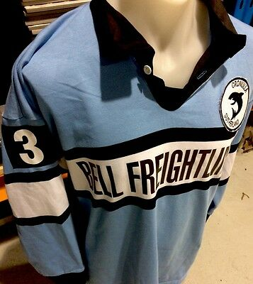 Cronulla Sharks Retro Jersey Vintage Style Issue Player