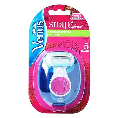Gillette Venus Embrace Snap 1 Razor with 1 Cartridge /GENUINE