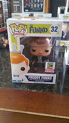 SDCC 2015 Freddy Funko Daryl Dixion Funko pop comes with pop protector