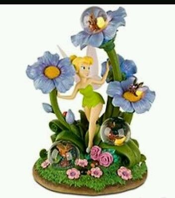 Disney Tinkerbell Firefly snowglobe brand new in box with lights