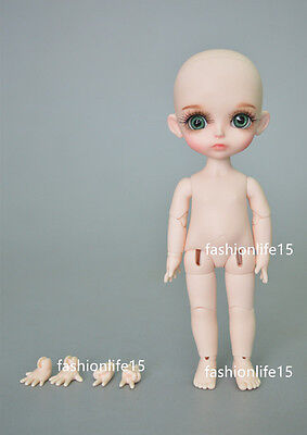 BJD 1/8 Doll Sunny (2 additional hand parts) free eyes +face make up