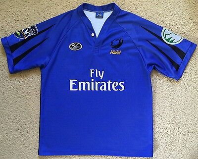 Western Force Rugby Union Team Super 14 Jersey ISC Made in Australia Size L VGC