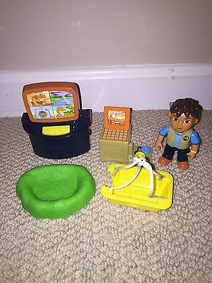 Go Diego Go Dinosaur Mountain Replacement Rescue Figure Lot Grass Computer