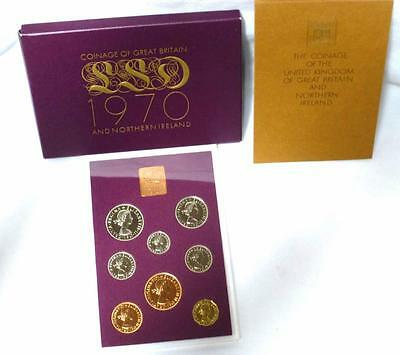 1970 Coinage of Great Britain & Northern Ireland Eight-Coin Proof Set