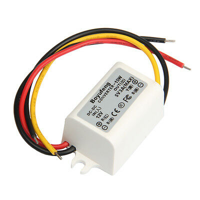 Waterproof DC-DC Converter 12V Step Down to 5V 3A 15W Power Supply Module