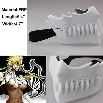 Bleach Halibel Mask Cosplay Arrancar NO.3 Tear SDCC Anime Cosplay Costume Mask
