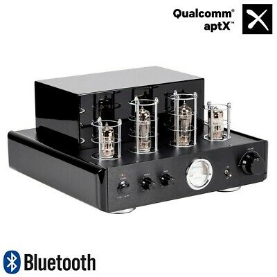 50W RMS/75W Peak Stereo Audio Hybrid Tube Amp Amplifier System with Bluetooth