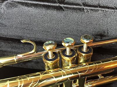 Wisemann DTR-800 New Lacquered Trumpet 180-37 Clone with Schilke Style Trim