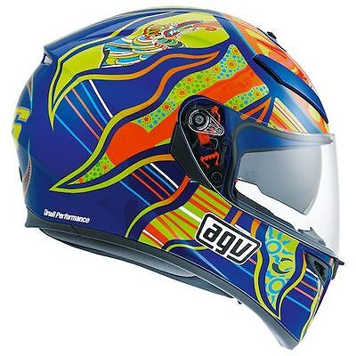 AGV K3-SV Full Face Motorcycle Helmet Valentino Rossi Replica Five 5 Continents