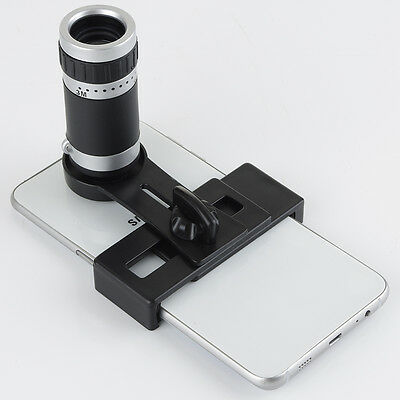 Universal Mobile Phone Lens 8 x 18 Optical Zoom Lens Micro Telescope Camera