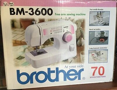 Brother BM-3600 Sewing Machine New In Box ( Can Post)