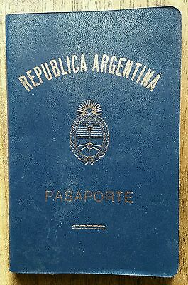 Travel Document Argentina Judaica