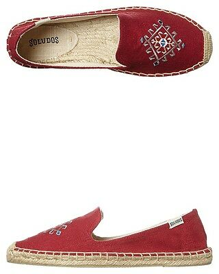 Suludos Women Red Smoking Slipper Size US 7 RRP $99