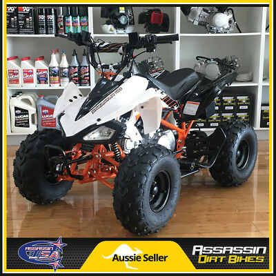 Assassin Predator Kids ATV 110cc QUAD Dirt Pit Bike Gokart 4 Wheeler Buggy